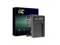 Ładowarka BC-V615 | AC-VL1 Green Cell ® do Sony A58, A57, A65, A77, A99, A900, A700, A580, A56,0 A55,0 A850, SLT A99 II