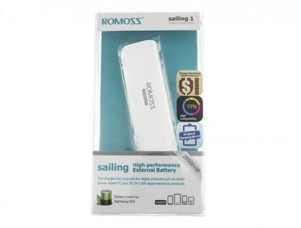 Power Bank Romoss Sailing 1 PB09 2600mAh