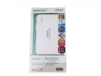 Power Bank Romoss Sailing 3 PB10 7800mAh