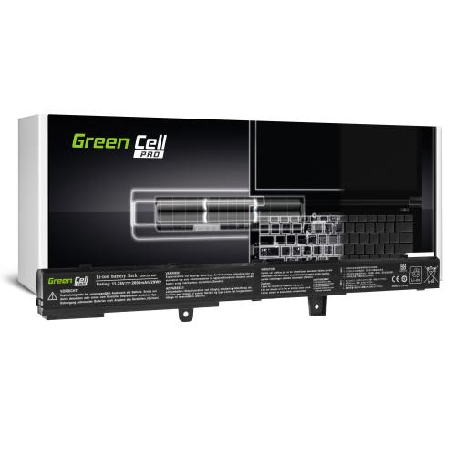 Bateria Green Cell PRO A31N1319 do Asus X551 X551C X551CA X551M X551MA X551MAV F551 F551C F551M R512C R512CA R553L