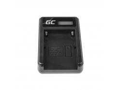 Bateria NP-F970 i Ładowarka BC-V615 Green Cell ® do Sony DCR-VX2100 HDR-AX2000 HVR-HD1000U HDR-FX1000 HDR-FX1 6600mAh
