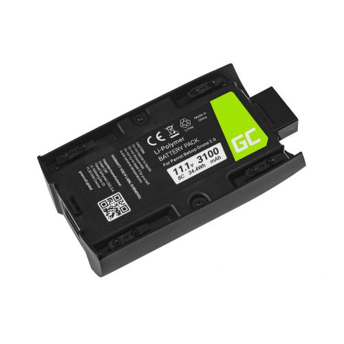 Akumulator Bateria Green Cell do Parrot Bebop 2 11.1V 3100mAh