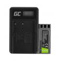 Bateria EN-EL23 Ładowarka MH-67 Green Cell ® do Nikon Coolpix B700, P600, P610, P900, S810C