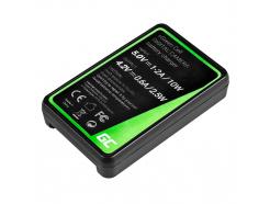 Bateria NP-BG1/NP-FG1 i Ładowarka BC-CSG Green Cell ® do Sony DSC H10, H20, H50, HX5, HX10, T50, W50, W70 3.7V 1100mAh