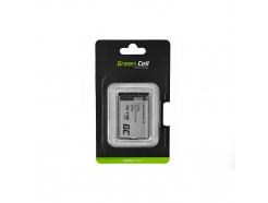 Bateria Green Cell ® LP-E5 do Canon LP-E5 EOS 450D 500D 1000D Kiss X2 X3 Rebel T1i XS 7.4V 1100mAh