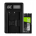 Bateria Green Cell ® EN-EL9 Ładowarka MH-23 do Nikon DSLR D40 D60 D3000 D5000 1000mAh