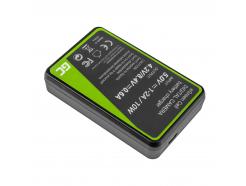 Bateria NB-10L i Ładowarka CB-2LCE Green Cell ® do Canon NB-10L PowerShot G15, G16, G1X, G3X, SX40 HS, SX40HS, SX50 HS, SX60 HS