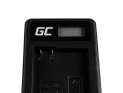 Bateria EN-EL14 i Ładowarka MH-24 Green Cell ® do Nikon D3200, D3300, D5100, D5200, D5300, D5500 P7000, P7700 7.4V 1100mAh