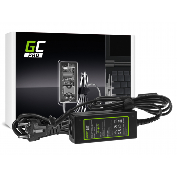 Zasilacz Ładowarka Green Cell PRO 19V 1.75A 33W do Asus X201E Vivobook F200CA F200MA F201E Q200E S200E X200CA X200M X200MA X202E