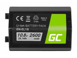 Bateria Green Cell ® EN-EL18 ENEL18 do Nikon D4, D4S, D5 10.8V 2600mAh