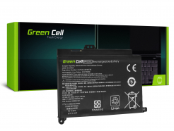 Bateria Green Cell BP02XL do HP Pavilion 15-AU 15-AU051NW 15-AU071NW 15-AU102NW 15-AU107NW 15-AW 15-AW010NW