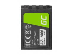 Bateria Green Cell ® Li-10B LI-10B do Olympus Stylus 300, µ 800,Camedia X-2 3.7V 1500mAh