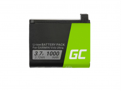 Bateria Green Cell® 361-00087-00 010-12389-15 do kamery Garmin Virb Ultra 30 3.7V 1000mAh