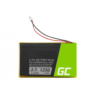 Bateria Green Cell® IA2B309C4B32 do GPS Nuvi 300 310 350 360 600 610 650 660FM