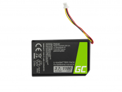 Bateria Green Cell® 361-00056-01 do GPS Garmin Nuvi 55 55LM 56 65 65LM 66 66LM