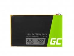 Bateria Green Cell® 1-853-104-11 do czytnika e-book Sony Portable Reader System PRS-T1, PRS-T2 oraz PRS-T3