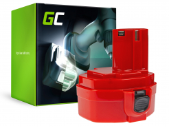 Bateria Green Cell (1.5Ah 14.4V) PA14 1420 1422 1433 1434 1435 do Makita 6333D 6281D 6336D 6228D 6237D 6237DWDE 6337D 8280D