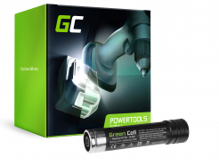 Bateria Green Cell (2Ah 3.6V) VP100 VP105 VP110 VP130 do Black&Decker S100 S500 VP230 VP368 VP600 VP650 VP660 VP730 VP800 VP870