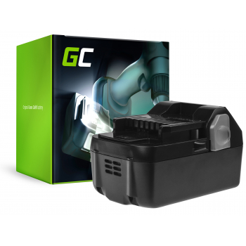Bateria Green Cell (4Ah 18V) BSL1815 BSL1820 BSL1830 BSL1840 BSL1850 BSL1825 do Hitachi C18DSL C18DSL2 C18DSLP4 CG18DSDL CJ18DSL