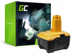 Bateria Akumulator (3Ah 14.4V) DC9182 DE9140 DE9141 Green Cell do DeWalt DC528 DC732KL DC733C2 DC733KL DC735KA DC737KL DC757KA