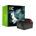 Bateria Green Cell (3Ah 18V) M18 C18B LI18 M18B2 M18B4 M18B5 M18B6 do Milwaukee BDD-202C BLPD-502C BLDD-502C FPD-0 BPD-202C