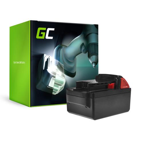 Bateria Green Cell (4Ah 18V) M18 C18B LI18 M18B2 M18B4 M18B5 M18B6 do Milwaukee BDD-202C BLPD-502C BLDD-502C FPD-0 BPD-202C