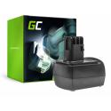 Bateria Akumulator Green Cell do Metabo BST12 IMPULS 12V 3Ah