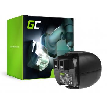 Bateria Green Cell (2.1Ah 4.8V) 6.27270 631858000 60005952 6.27271 do Metabo PowerGrip 2 PowerMaxx 4.8 6.00059.50 6.00064.50