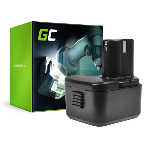 Bateria Green Cell (1.5Ah 12V) BCH 1220 BCC1215 EB1214S EB1220BL EB12B EB 1214S BCC 1215 do Hitachi DS12DVF3 UB12D CG10DL UB 3D