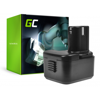 Bateria Green Cell (3Ah 12V) BCH 1220 BCC1215 EB1214S EB1220BL EB12B EB 1214S BCC 1215 do Hitachi DS12DVF3 UB12D CG10DL UB 3D