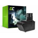 Bateria Green Cell (3.3Ah 9.6V) SBP 10 SBP10 SFB 105 SFB105 265605 SBP-10 SPB10 do Hilti SB 10 SB10 SF-100A BD2000 SB-10 SF 100A