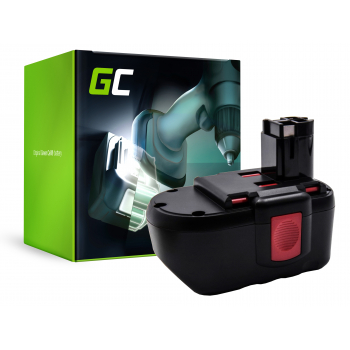 Bateria Green Cell (3Ah 24V) 2 607 335 448 2 607 335 445 2 607 335 451 BAT031 BAT240 do Bosch BACCS GBH GCM GKS GLI 24V 24VE-2