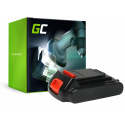 Bateria Green Cell (1.5Ah 18V) BL1518 BL2018 BL4018 BL1520 BL3018 do Black&Decker BDCDC18B BDCDC18 BDCDC18BAFC BDCHD18