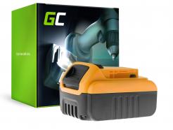 Bateria Green Cell (3Ah 18V) DCB180 DCB181 DCB182 DCB183 DCB184 DCB185 DCB200 XR do DeWalt DCD776 DCF899P2 DCD796P2 DCF885