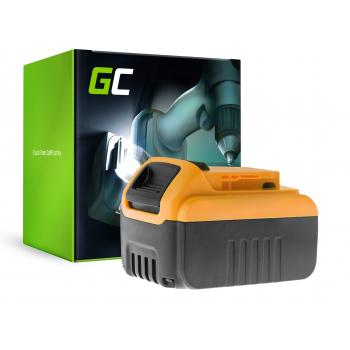 Bateria Green Cell (6Ah 18V) DCB180 DCB181 DCB182 DCB183 DCB184 DCB185 DCB200 XR do DeWalt DCD776 DCF899P2 DCD796P2 DCF885