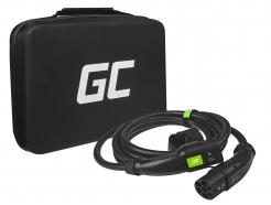 Kabel Green Cell GC Type 2 do ładowania EV Tesla Leaf Ioniq Kona E-tron Zoe 7.2kW 5 metrów z futerałem