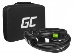 Kabel Green Cell GC Type 2 do ładowania EV Tesla Leaf Ioniq Kona E-tron Zoe 11kW 7 metrów z futerałem