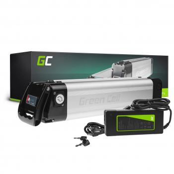 Green Cell® Bateria do Roweru Elektrycznego 24V 10.4Ah E-Bike Li-Ion Silverfish z Ładowarką