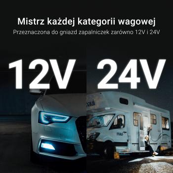 Ładowarka 3.6-6V/3A, 6-9V/2A, 9-12V/1.5A