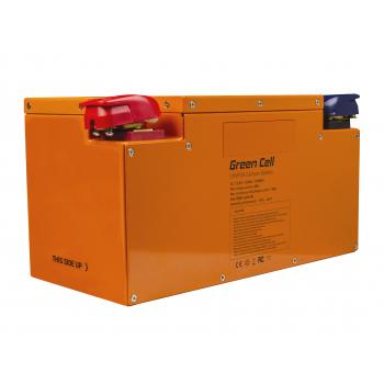 Akumulator litowo-żelazowo-fosforanowy LiFePO4 Green Cell 12.8V 120Ah do paneli solarnych i kamperów