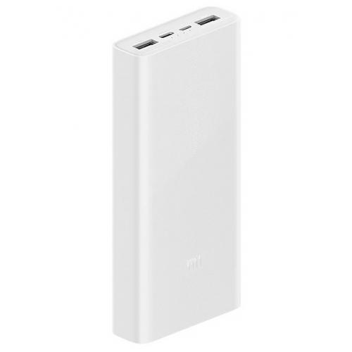 Oryginalny Power Bank Xiaomi 3 20000mAh QC3.0 USB-C 18W - Model PLM18ZM
