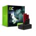 Bateria Green Cell (3Ah 12V) C12 M12 M12B2 M12B3 M12B4 M12B6 M12B9 REDLITHIUM do Milwaukee BDD-202C BPD-0 BSD-0 C12HZ-0 C12MT-0