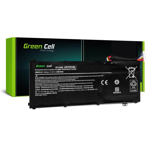 Bateria Green Cell AC14A8L do Acer Aspire Nitro V15 VN7-571G VN7-572G VN7-591G VN7-592G i V17 VN7-791G VN7-792G
