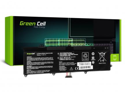 Bateria Green Cell C21-X202 do Asus X201E F201E VivoBook F202E Q200E S200E X202E