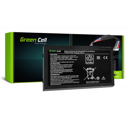 Bateria Green Cell PT6V8 do Dell Alienware M11x R1 R2 R3 M14x R1 R2 R3