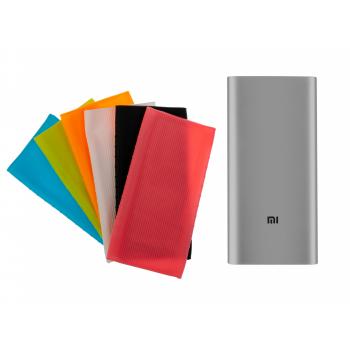 Zestaw: Power Bank Xiaomi 3 Generacja 10000 mAh MI3 PLM12ZM Srebrny + etui ochronne