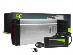 Green Cell Akumulator Bateria 36V 12Ah 432Wh Rear Rack do Roweru Elektrycznego E-Bike Pedelec