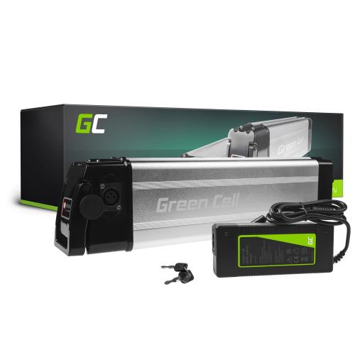 Akumulator Bateria Green Cell Silverfish 36V 11Ah 396Wh do Roweru Elektrycznego E-Bike Pedelec