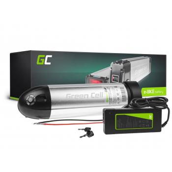 Green Cell® Bateria do Roweru Elektrycznego 36V 12Ah E-Bike Bottle Li-Ion z Ładowarką
