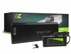 Green Cell Akumulator Bateria 36V 12Ah 432Wh Rear Rack do Roweru Elektrycznego E-Bike Pedelec